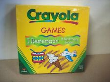 CRAYOLA Games I Remember Matching Spinner Game - Collectible