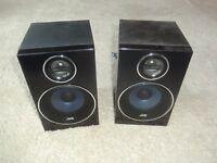 JVC SP-NXG5 Stereo Lautsprecher / Boxen, Schwarz, 2 Jahre Garantie