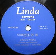 EVELIO VIDAL LATIN 78 Cobrate De Mi LINDA label