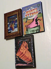 MONTY PYTHON DVD - LIFE OF BRIAN - THE HOLY GRAIL - IN THE BEGINNING - INGLESE