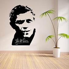 STEVE MCQUEEN vinyl wall art sticker decal