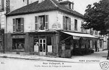 CPA France, Paris 20e, Rue Pelleport, Maison (48668)