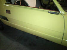 Fiat X19 Right Drivers Side Door Shell Off Late Model
