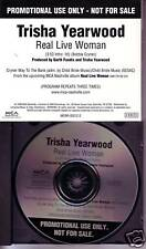 Trisha Yearwood Real Live Woman PROMO DJ CD Single 1999