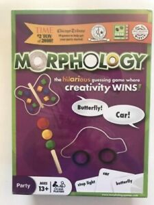 Morphology Game The Hilarious Guessing Game Where Creativity Wins Party Game-NEW
