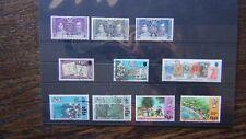 Fiji 1937 Coronation 1970 Stamp Centenary 1970 Hospital sets Used