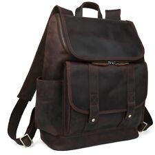 """Men's 15"""" Laptop Backpack School Book Studet Bag Satchel Travel Camp Hiking Gift"""