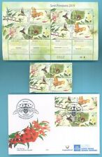 Spring Uruguay 2019 Fauna Insects Bee Butterfly Sheetlet + set + FDC + GIFT