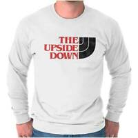 The Upside Down Stranger Eleven Cool Things Funny Demigorgon Long Sleeve Shirt