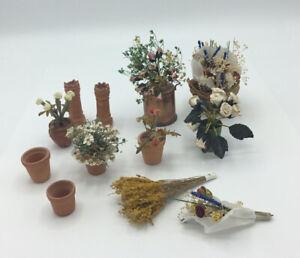Dolls House Flowers