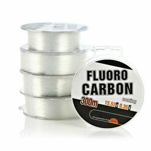 Fishing Line 300m Fluro Carbon Coating Monofilament Nylon Carp Wires Accessories