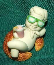 "Pillsbury Doughboy Calendar August Danbury Mint 1997 Figurine Collectible 2"""