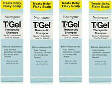 Brand New Neutrogena T/Gel Therapeutic Shampoo 4 x 250mL