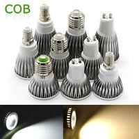 E27 E14 GU10 LED Spot Light Energy Saving Bulbs Lamp COB Spotlight 3W 9W 12W