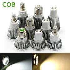 E27 E14 GU10 LED Spot Light Energy Saving Bulbs Lamp COB Spotlight 3W 9W 12W