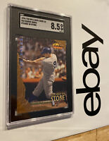 Roger Maris SGC 8.5 Ted Williams Card Co. 1994 Man Cave ETCHED Collector #ES2