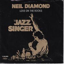 7inch NEIL DIAMOND love on the rocks HOLLAND 1980 EX  (S0935)