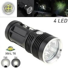 SKYRAY Waterproof 3 Modes 10000LM 4 XM-L T6 LED Torch Light Flashlight