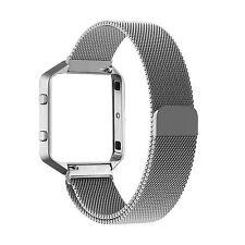 US Sale Sport Silicone/Milanese Watch Band Strap Bracelet For Fitbit Blaze Wrist
