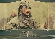 "Game of Thrones Valyrian Steel: #93 ""Orell"" Gold Metal Parallel Card"