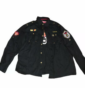 Parish Nation 3XL Bomber Jacket With Patches