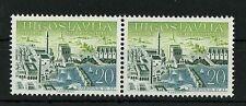Yugoslavia 1959 ☀ Philatelic Exn., Dubrovnik - 20d. ☀ MNH pair