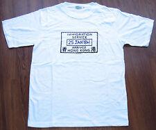 RARE CONGO SNAPPERS 1997 HISTORICAL HONG KONG TRANSFER HANDOVER SIZE XL VINTAGE