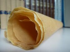 "Real skin PARCHMENT (vellum+mixed skins), medieval scroll 24 x20""- 20 USD/sheet"