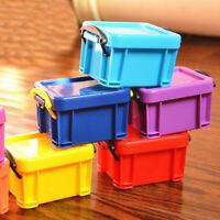 Mini Box Storage Lock Home Furnishing Trumpet Boxes 9 Colors Organizer