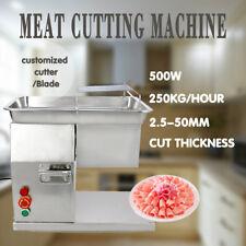 1 set Of Blade Meat 220v Slicer Cutter Fleisch Aufschnittmaschinen 250kg