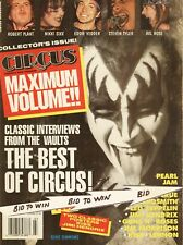 KISS GENE SIMMONS The Best of CIRCUS Magazine March 1994 JIMI HENDRIX & KISS CF