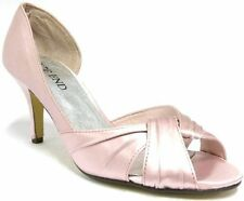 High (3 in. and Up) Satin Special Occasion Pumps, Classics Heels for Women