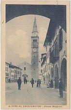 S.VITO AL TAGLIAMENTO - PIAZZA MAGGIORE (PORDENONE) 1916