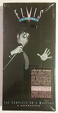 ELVIS PRESLEY - THE COMPLETE 50'S MASTERS - 5 CASSETES - BOX SET