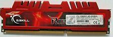 G.Skill RipJaws 4GB 1x4GB DDR3-1600MHZ CL10 F3-12800CL9D-8GBXL Desktop Memory
