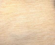 """3 YDS LONG X 52"""" WIDE UNIQUE SOFT BRUSHED CREAM UHPOLSTERY FABRIC SQUARE CANVAS"""