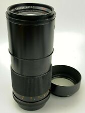 Contax Carl Zeiss 200mm F4 Tele-Tessar T* Lens made in Germany