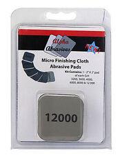 Alpha Abrasives  Micro Finishing Cloth Abrasive Pads #2000