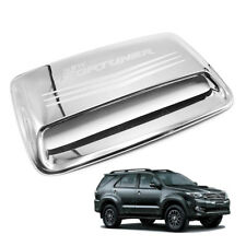Bonnet Hood Scoop Cover Trim Chrome 1 Pc Fits Toyota Fortuner Suv 2011 - 2014