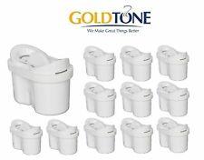 (12) GoldTone 1001122 Maxtra Charcoal Mavea Water Filters - Fits Mavea Pitcher