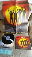 "BONEY M. BOONOONOONOOS LP 12"" VINYL SPANISH FIRST PRESS ARIOLA 1981 RARE!"