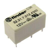 Finder 32.21.7.012.4300 Relais 12V DC 1xEIN 6A 720R 250V AC Relay Print 855028