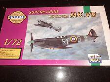 Smer 1/72nd escala Supermarine Spitfire Vb-Nuevo En Caja.