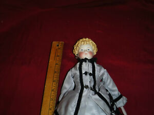 """1870's?  18"""" China Head Doll in Period Clothes (Doll #9)"""