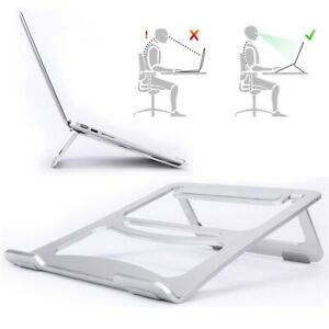 Portable Aluminium Alloy Laptop Stand Foldable Cooling Holder for Macbook Pro AU