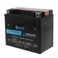 NICHE AGM Battery for Arctic Cat Honda Polaris Suzuki Yamaha YTX12-BS
