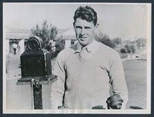 "1935 Henry Picard, ""Winner at Agua Caliente"" Vintage Photo"