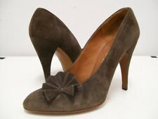 Sale Charles Jourdan 1970's brown suede pumps 7A