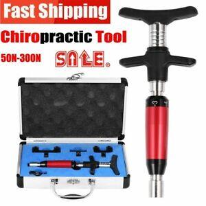 6 Levels Chiropractic Adjusting Tool Portable Instrument Spine Back Activator AU