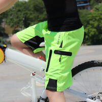 Mens MTB Mountain Bike Short Bicycle Cycling Riding Shorts Wear Relaxed Loosefit